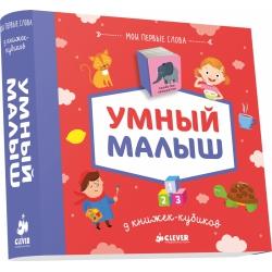 9 книжек-кубиков. Умный малыш. Мои первые слова