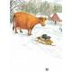Мама Му и снегокат. Юя и Томас Висландер, Свен Нурдквист
