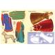 Супернаклейки. Роскошные наряды в Средние века