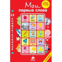 Мои первые слова. 15 книжек-кубиков. Русский язык