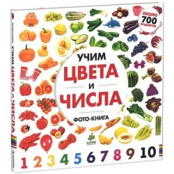 Учим цвета и числа. Солнечная фото-книга
